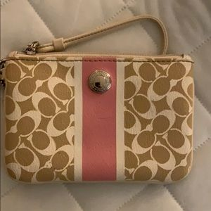 coach wallet/wristlet. very lightly used